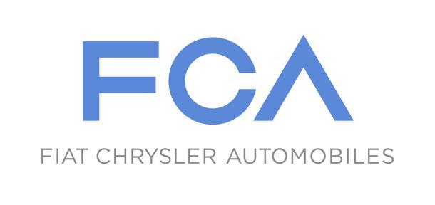 Fiat Chrysler Automobilese: nel logo la sigla Fca