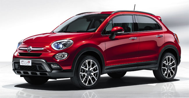 Fiat 500x Model year 2015 - www.guidoitaliano.it