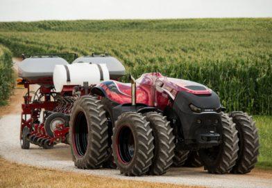 I marchi di CNH Industrial presentano lo sviluppo di un concept di trattore autonomo