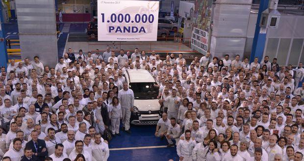 Prodotta la milionesima Fiat Panda IV – in produzione dal 2012