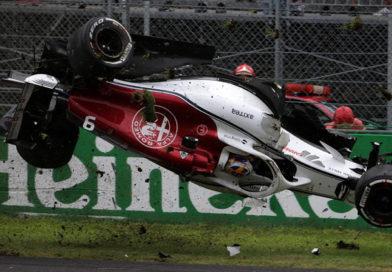 Qualifiche del Gran Premio d'Italia 2018, Ferrari da urlo alle prime due posizioni. Bruttissimo incidente per l'Alfa Romeo Sauber a 300 km/h ma Ericsson è illeso