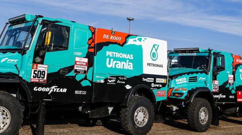 Il team De Rooy a caccia della vittoria al Rally Dakar 2019 con pneumatici autocarro Good year di serie