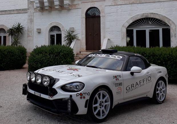Dai test alle corse: Alex Fiorio torna a correre e lo fa su un'Abarth 124 rally