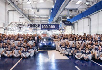 Maserati: prodotta la Ghibli n° 100.000 presso lo stabilimento di Grugliasco