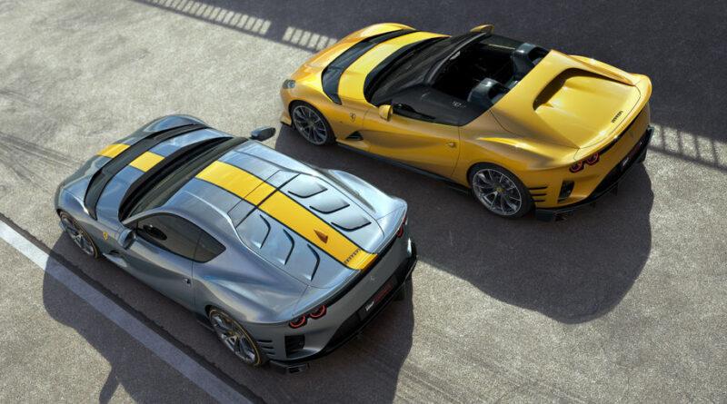 812 Competizione e 812 Competizione A: le due anime del DNA racing Ferrari